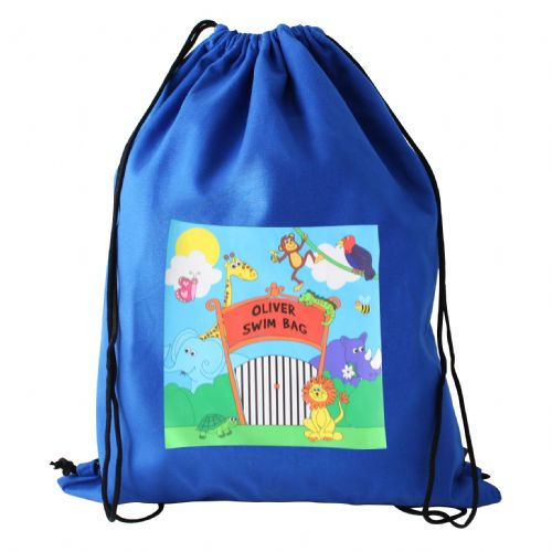 Personalised Zoo Kit Bag